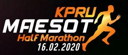 KPRU MAESOT HALF MARATHON 2020 LOGO