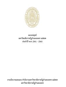 แผนกลยุทธ์มหาวิทยาลัยราชภัฏกำแพงเพชรปี 2561-2565