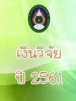 เงินวิจัย 2561